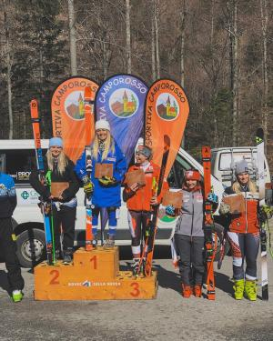 Silver for Alice Robinson at Europa Cup Super-G