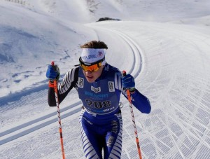 Strong Skiing by NZ's Campbell Wright at Winter Games NZ  FIS ANC Cross-Country series