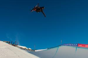 Miguel Porteous Qualifies for Finals at Winter Games NZ FIS Freeski Halfpipe World Cup