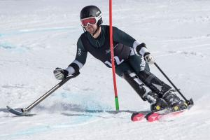 Four from Four Gold Medals for NZ Paralympian Adam Hall at Winter Games NZ Southern Hemisphere Cups