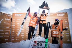 Jess Hotter Wins Freeride World Tour Stop in Canada