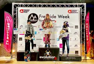 NZ Snowboarder Claire McGregor Wins FWQ 4* in La Rosière