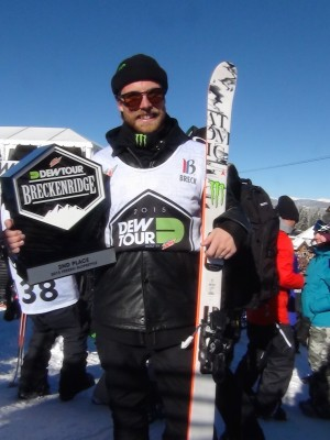 Jossi Wells Places Second at Dew Tour
