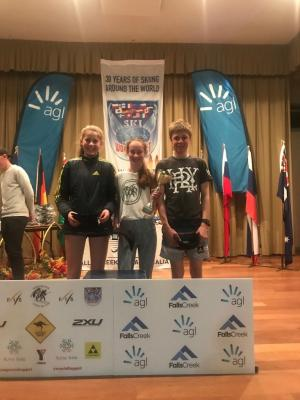 NZ School Team Victorious at Kangaroo Hoppet Cross Country Skiing Race