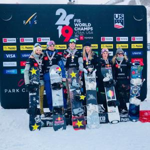 Zoi Sadowski-Synnott Crowned Snowboard Slopestyle World Champion