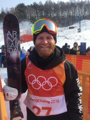 Three freeskiers through to men's halfpipe finals in PyeongChang